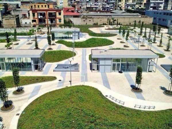 Il progetto del nuovo campus dell'Università Federico II di Napoli