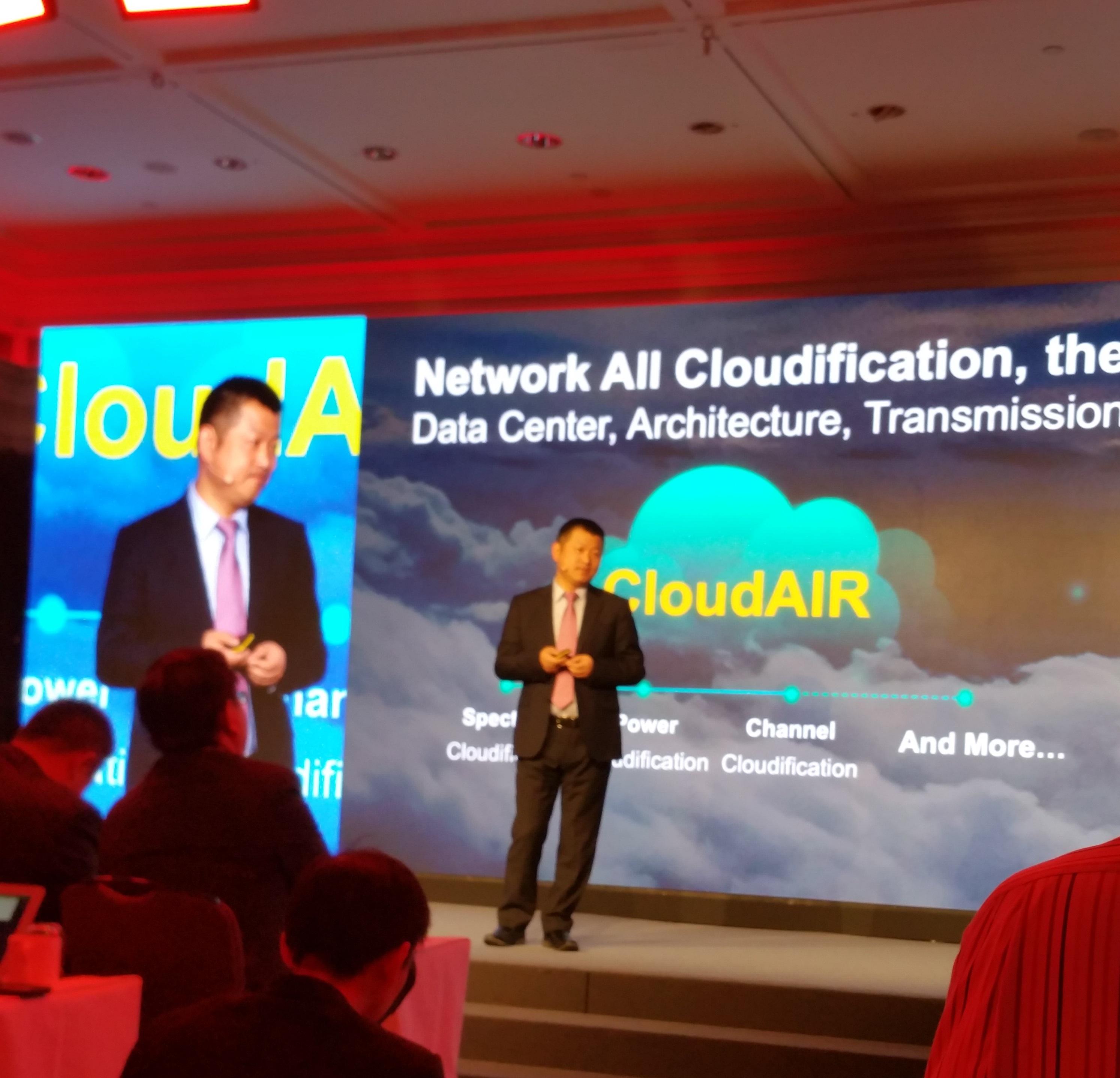 Libin Dai, director della divisione Network transformation management di Huawei