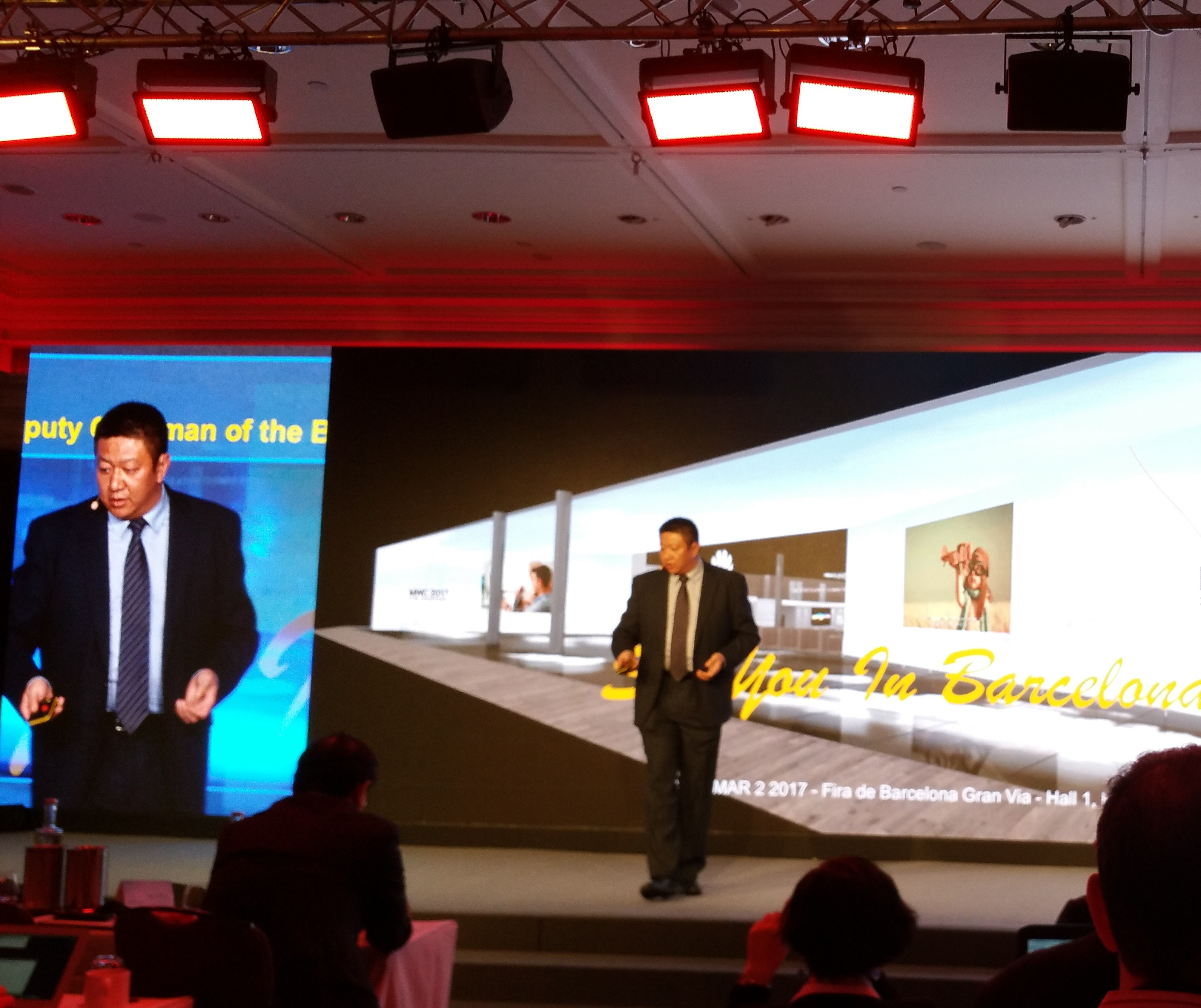 Ken Wang, presidente Global marketing and solution sales di Huawei