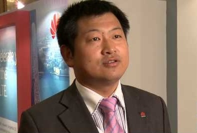 Yuefeng Zhou, chief marketing officer Wireless network product line di Huawei