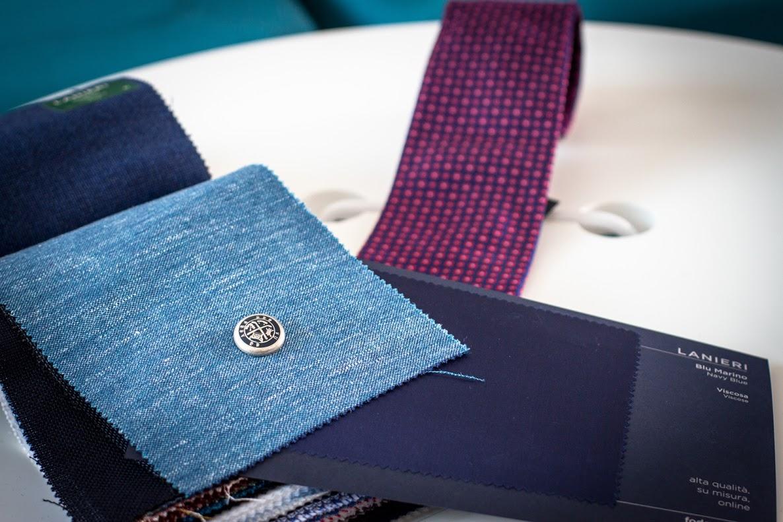 La piattaforma permette di scegliere fra i migliori tessuti Made in Italy
