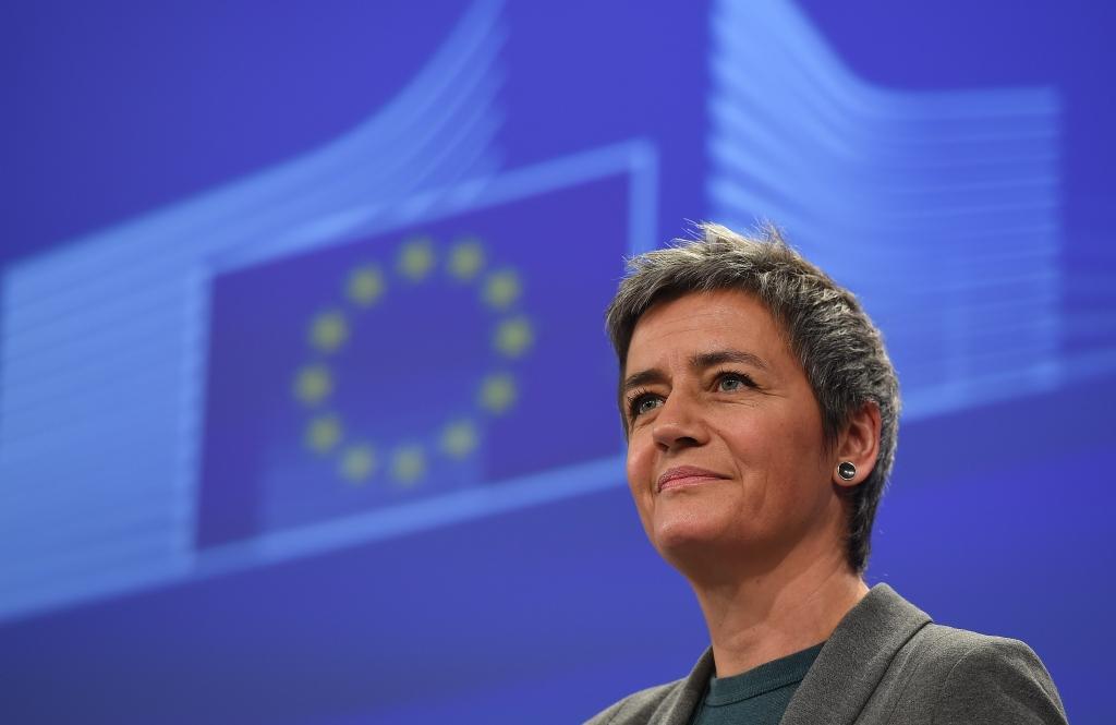 La commissaria alla Concorreza dell'Unione europea, Margrethe Vestager