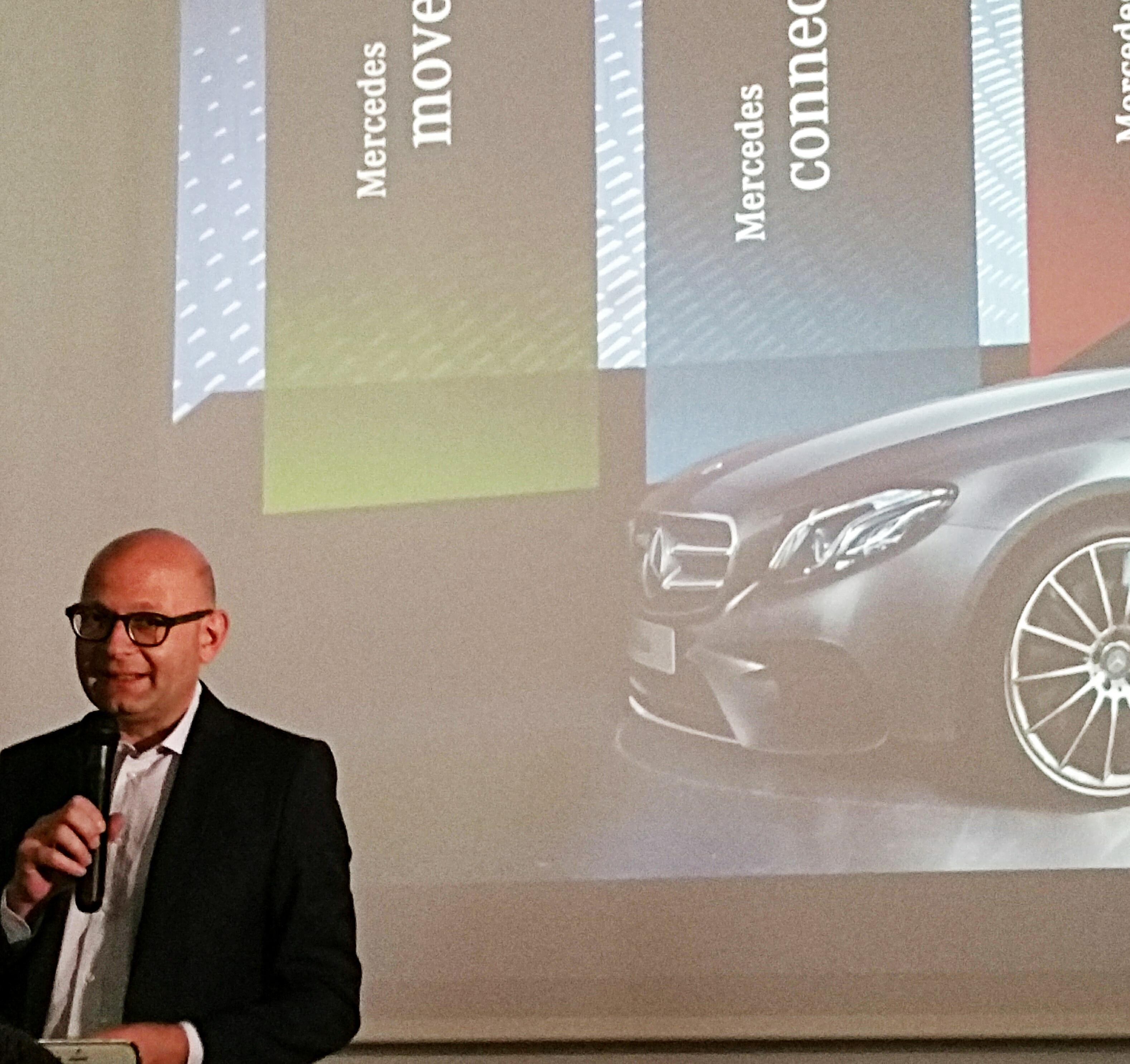 Paolo Lanzoni, Responsabile comunicazione di Mercedes-Benz Italia