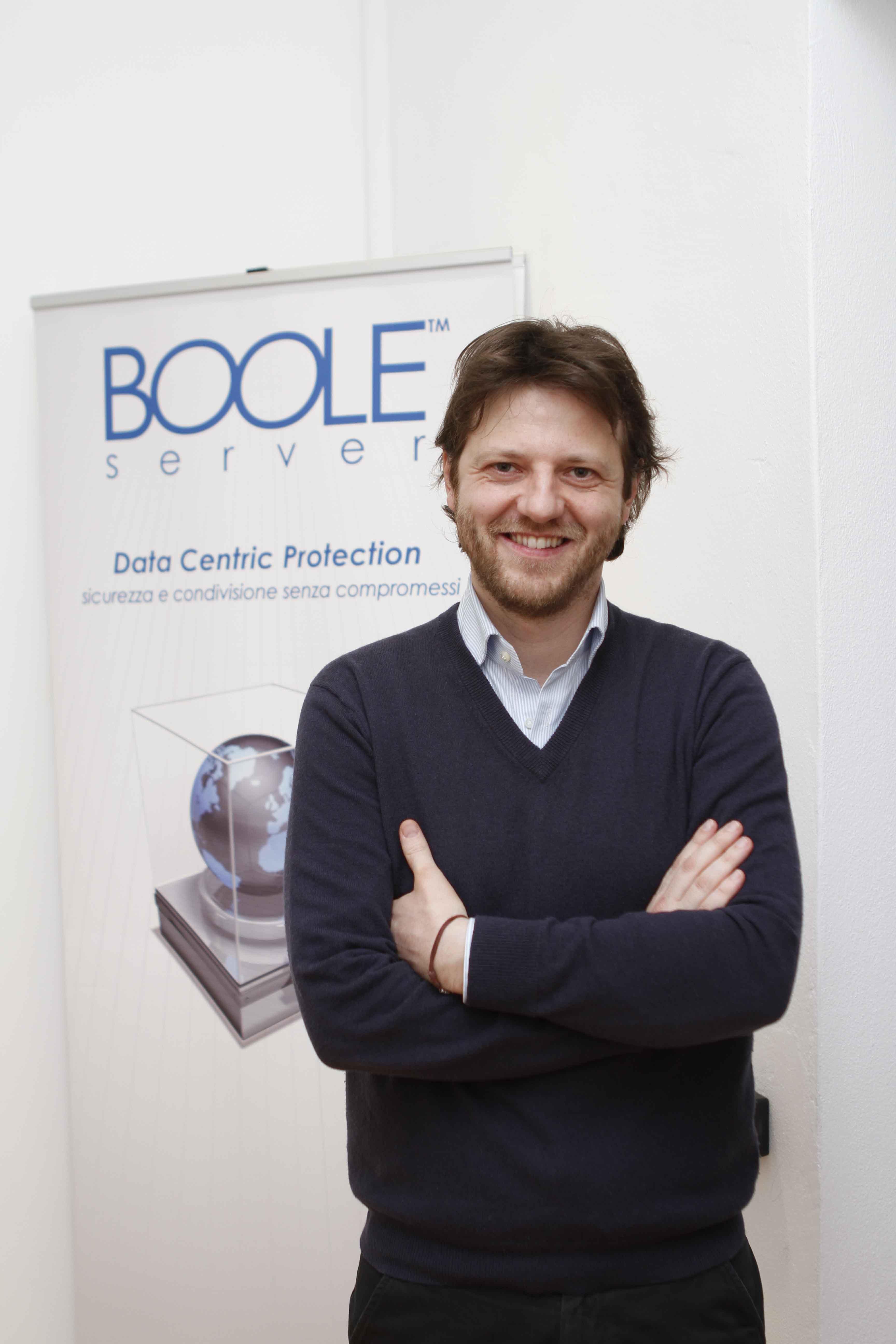 Valerio Pastore, presidente e fondatore di Boole Server