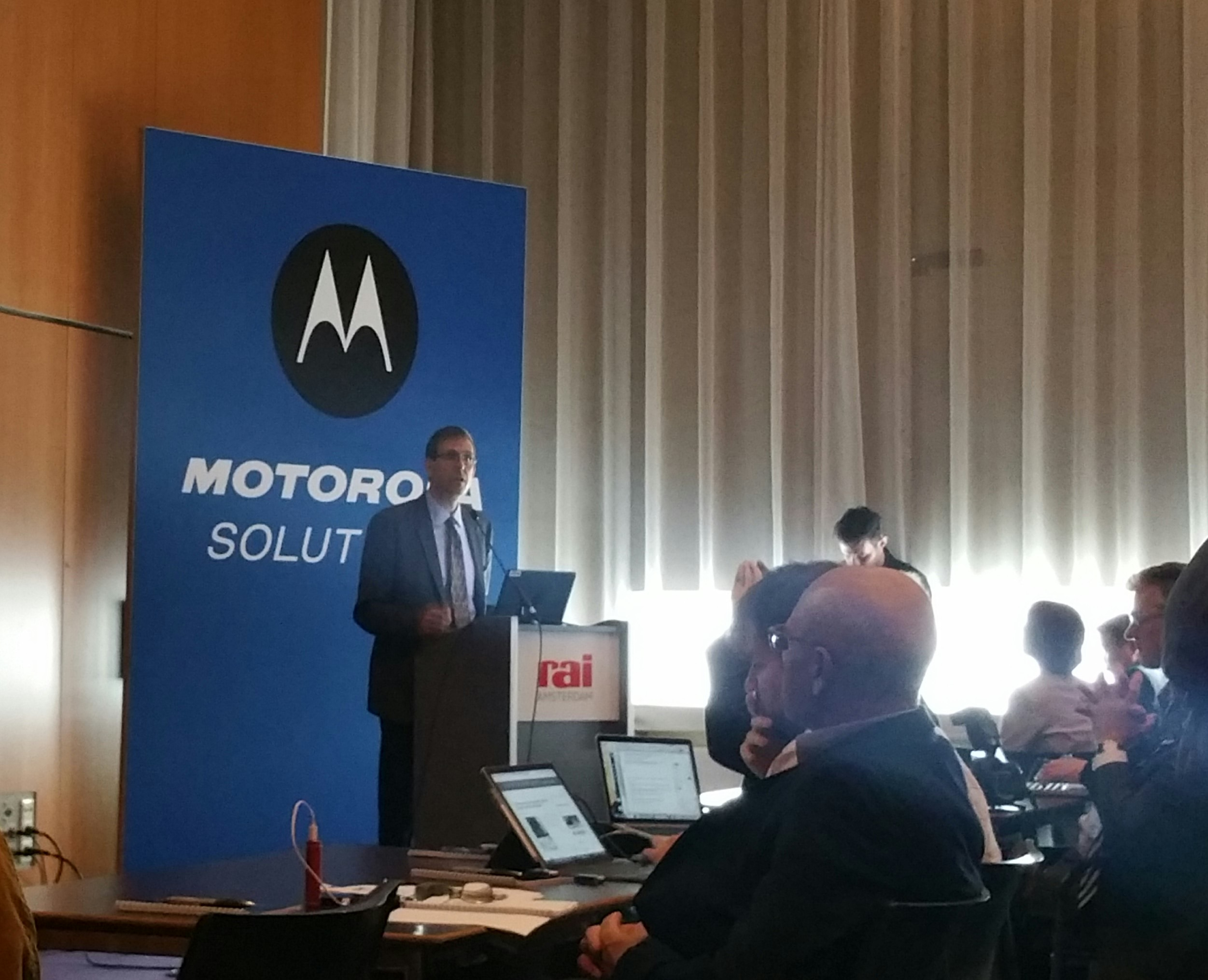 Jeff Spaeth, corporate vp e general manager System & software enablement di Motorola Solutions