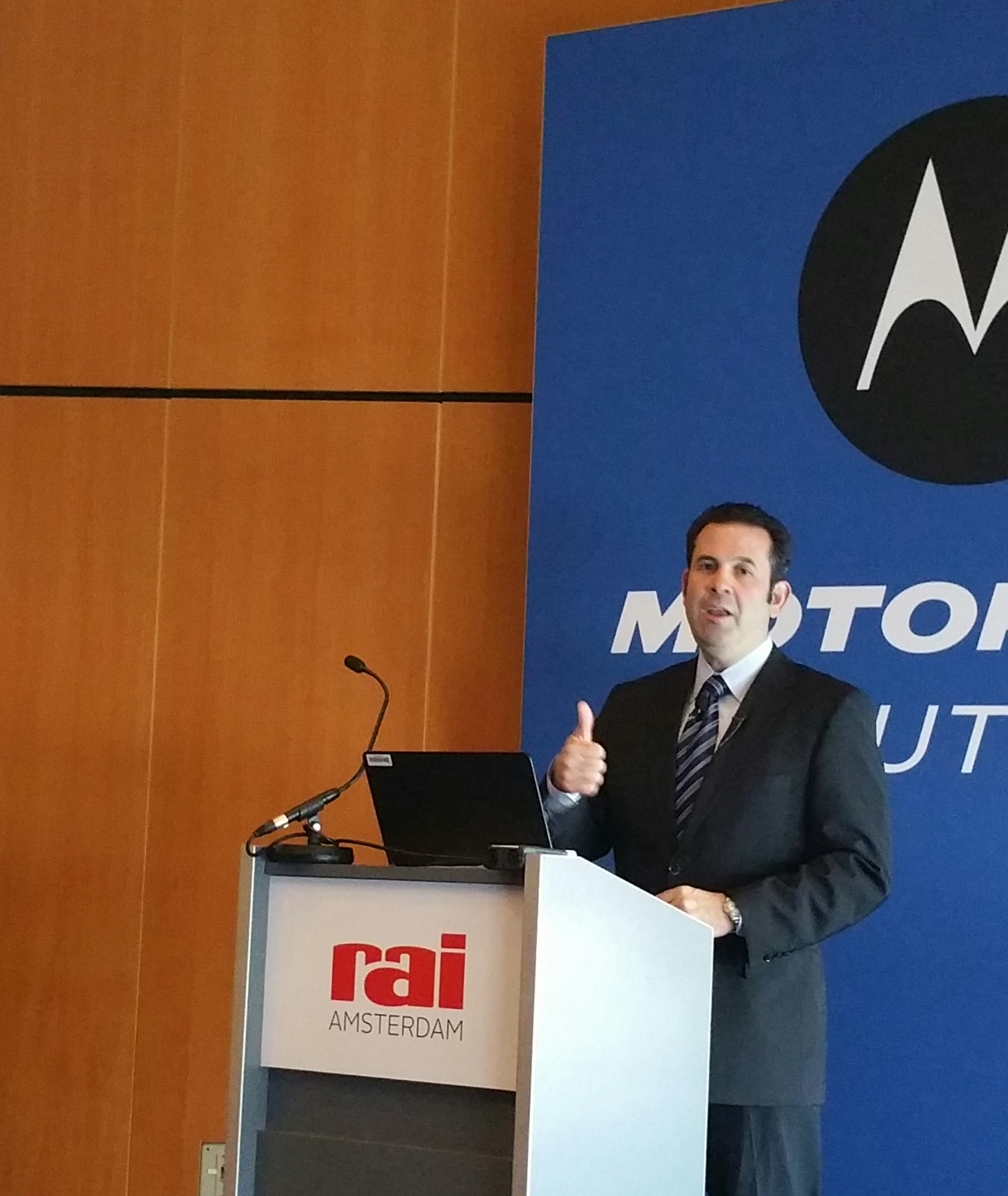 Eduardo Conrado, executive vp e cio di Motorola Solutions