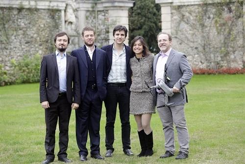 Alcuni dei componenti del team di Archon, composto da 8 persone più 7 contrattate tramite la sister company LaserNavigation