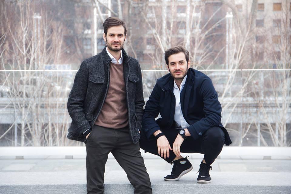 A sinistra Emiliano Parini, coo di Deed. A destra il fratello Edoardo, ceo della società
