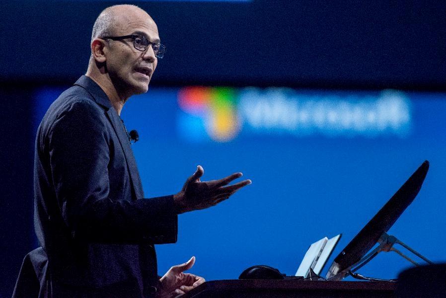 Satya Nadella, ceo di Microsoft