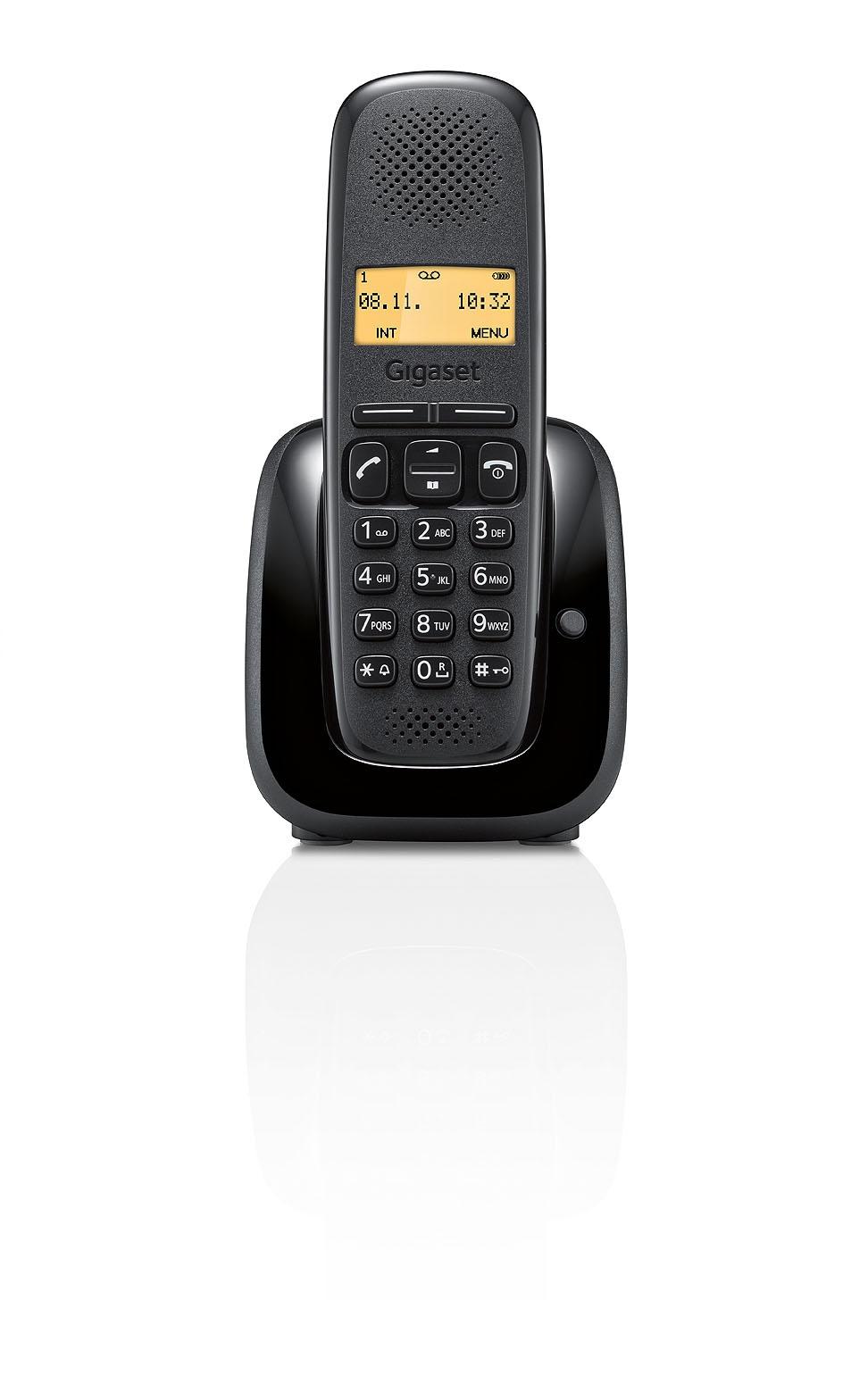 Gigaset lancia il telefono a150 il cordless green e high - Cordless di design ...