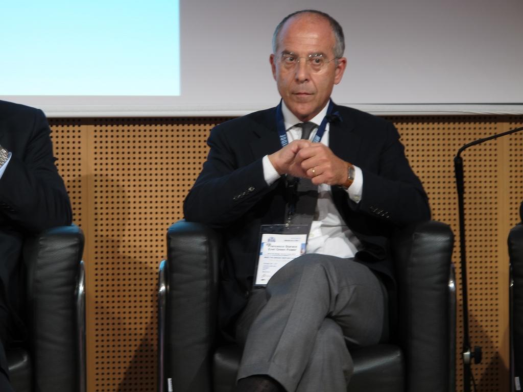 Francesco Starace, amministratore delegato del gruppo Enel