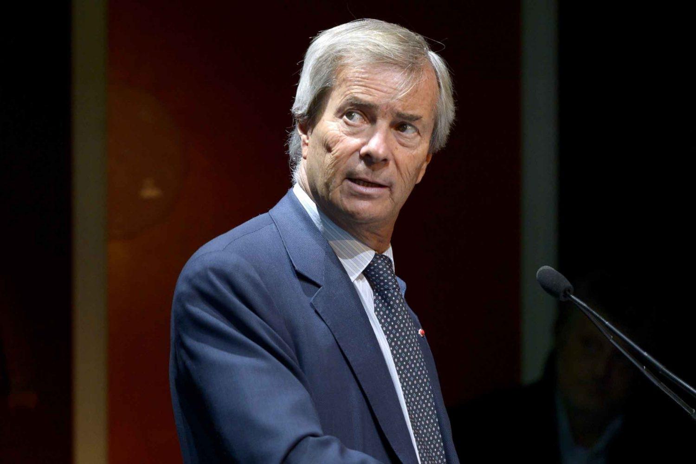 Vincent Bolloré, patron di Vivendi
