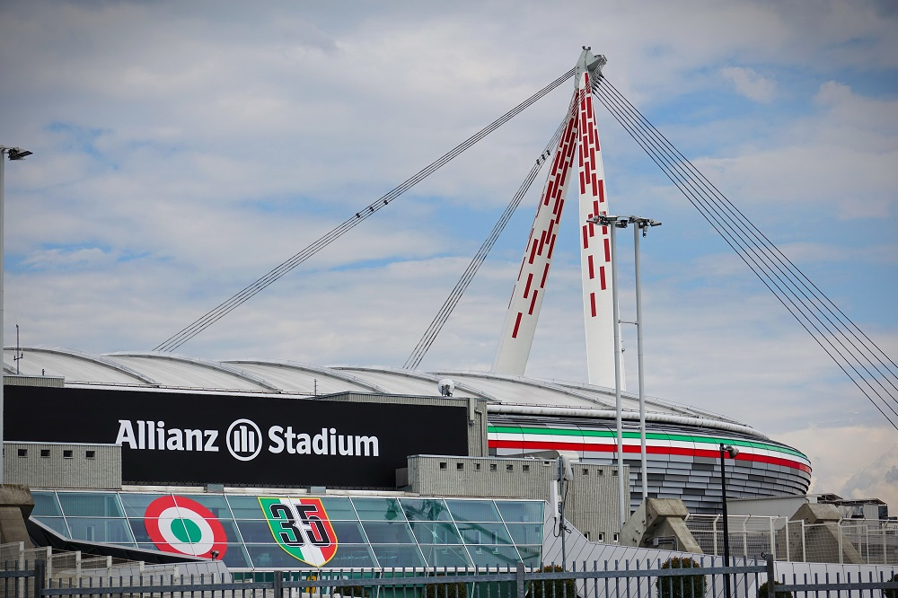 Allianz Stadium, tecnologia Samsung per il nuovo logo Juventus - CorCom