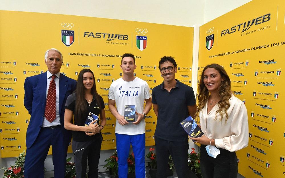 Tokyio 2021, Fastweb main sponsor del Coni e del team Italia - CorCom